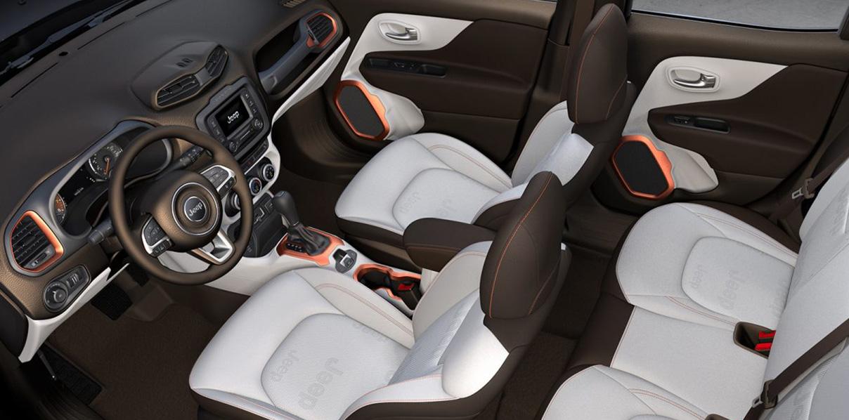 Jeep Renegade Interior >> Jeep Renegade 4x4 Suv Interior Features