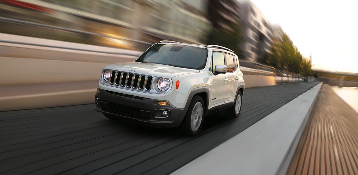 Jeep Renegade in South Africa: 4x4 Small SUV Jeep Renegade
